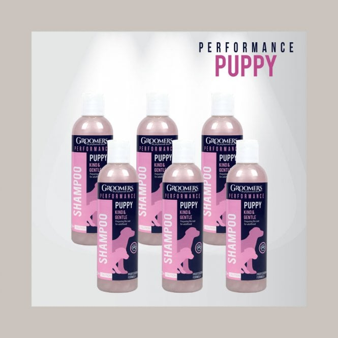 Groomers Performance Puppy Shampoo, 250ml Six Pack