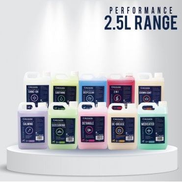 Groomers Performance Range Shampoo Set - 10 x 2.5L - NEW