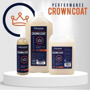 Groomers Performance Strengthening Crown Coat Shampoo with Royal Jelly