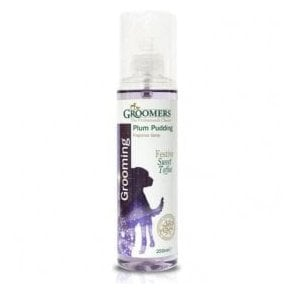 Groomers Plum Pudding Limited Edition Fragrance Spray