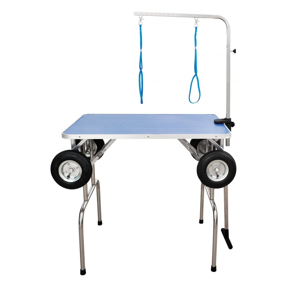 portable dog grooming tables