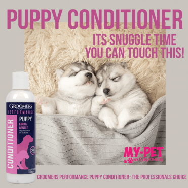 Groomers Puppy Conditioner 250ml - NEW