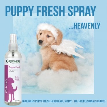 Groomers Puppy Fresh Fragrance Spray 250ml