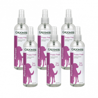 Groomers Puppy Fresh Spray Six Pack