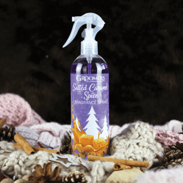 Groomers Salted Caramel Spice Christmas Fragrance Spray – NEW LIMITED EDITION