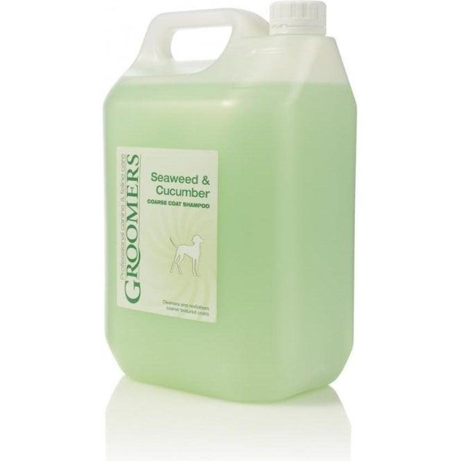 groomers seaweed  u0026 cucumber dog shampoo