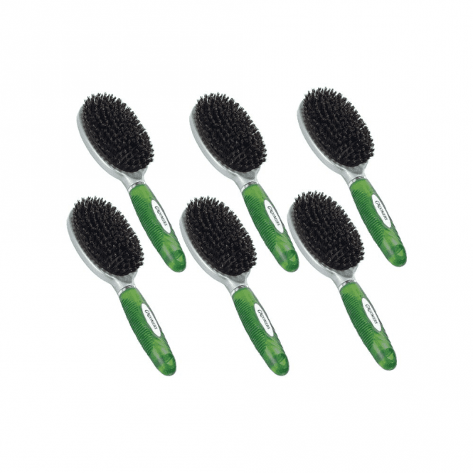 Groomers Small Natural Bristle Brush Six Pack