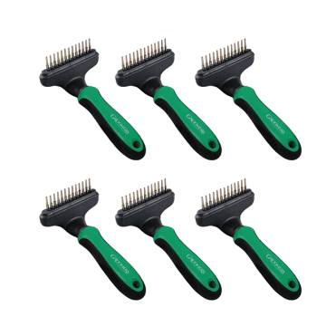 Groomers Undercoat Rake Six Pack - NEW