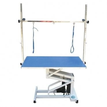 Groomers Volta Electric Table - Blue Tabletop