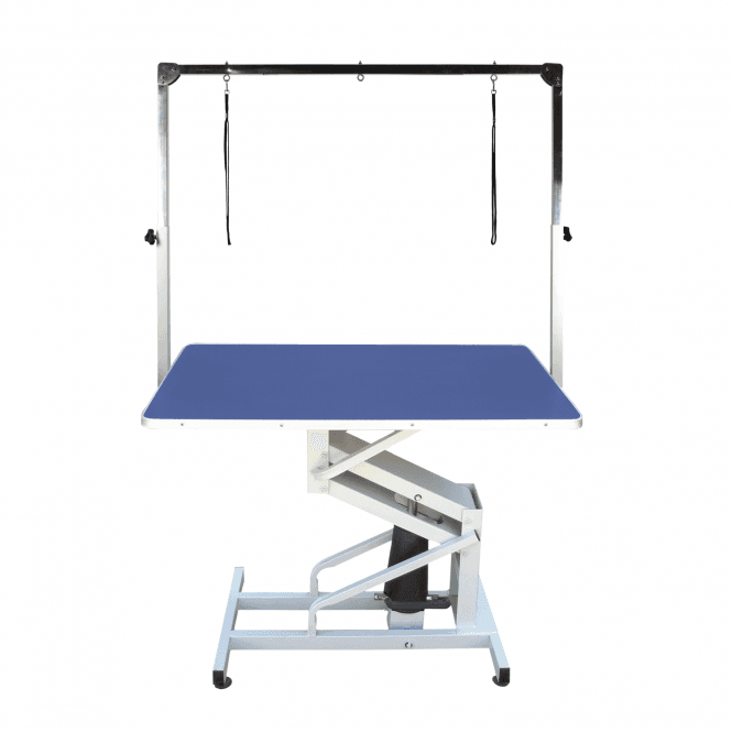 Groomers Vulcan Extreme Hydraulic Table - Blue Table Top - NEW
