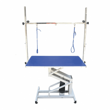 Groomers Vulcan Hydraulic Table - Blue Table Top