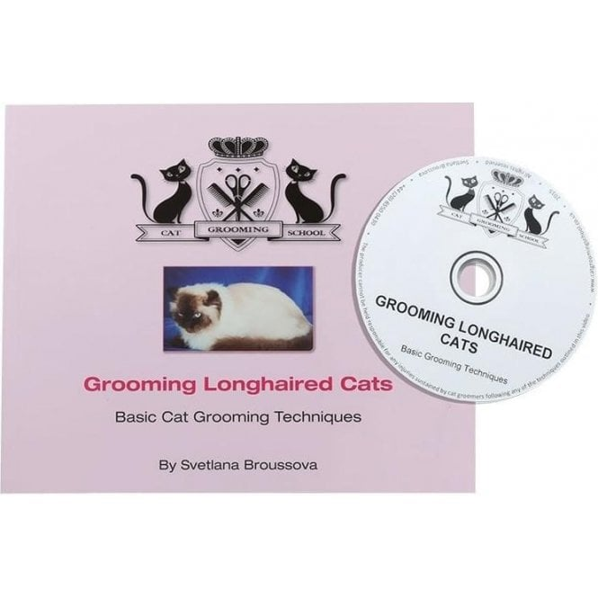 Grooming Longhaired Cats Book with DVD