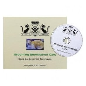 Grooming Shorthaired Cats Book with DVD