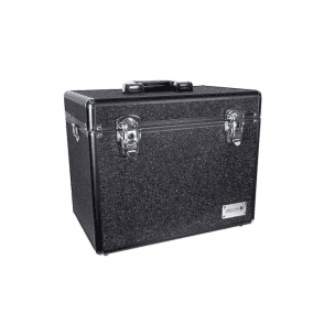 GroomX Portable Glitter Grooming Case - Black - NEW