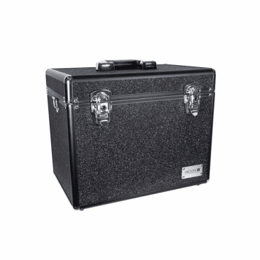 GroomX Portable Glitter Storage Case - Black