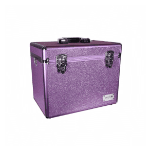 GroomX Portable Glitter Grooming Case - Purple