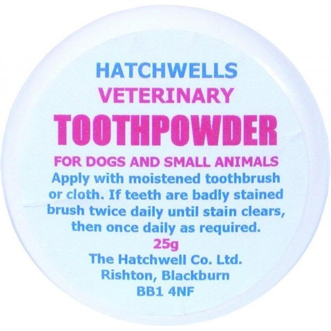 Hatchwells Veterinary Toothpowder