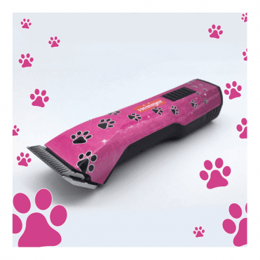 Heiniger Limited Edition Saphir Style Pink Paws Clipper - NEW