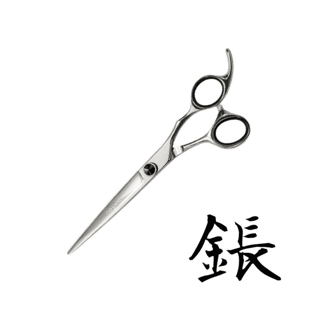 "Kanpeki Black 7"" Straight Scissors"