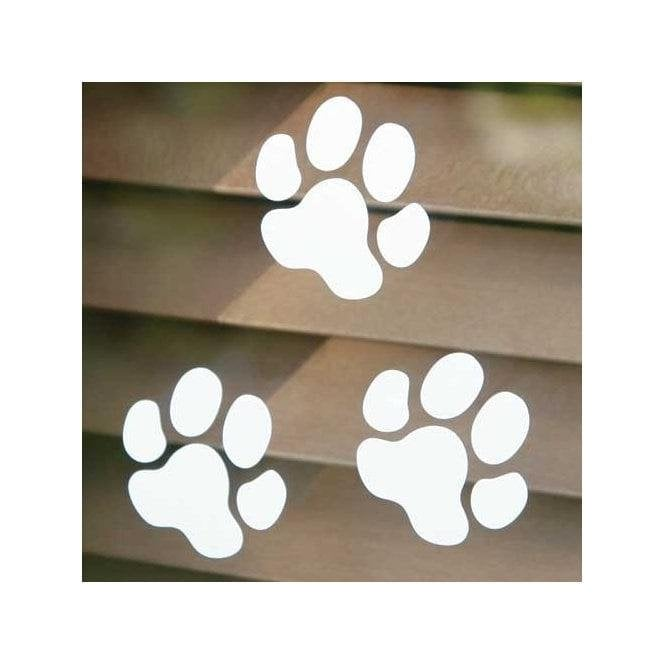 Groomers Large Paw Print Sticker