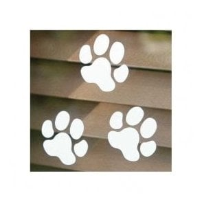 Large Paw Print Sticker