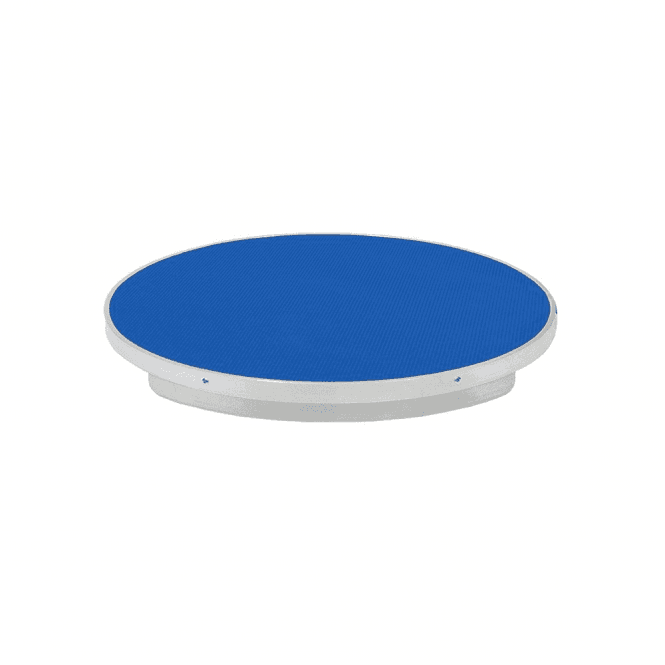 Groomers Lazy Susan Rotating Table - Blue - NEW