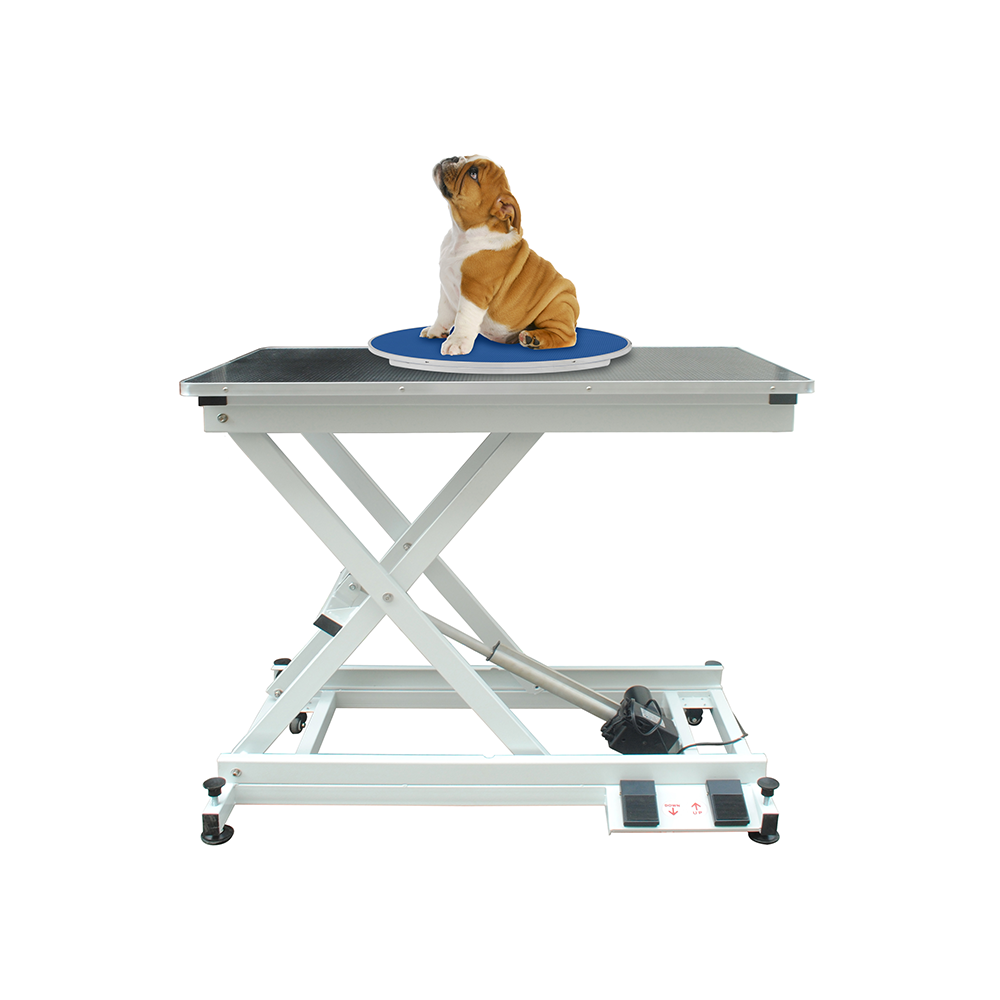 Lazy Susan Rotating Table Blue Buy Today Groomers Uk