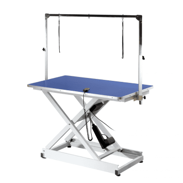 Metro Extreme Electric Table - Blue Table Top - NEW