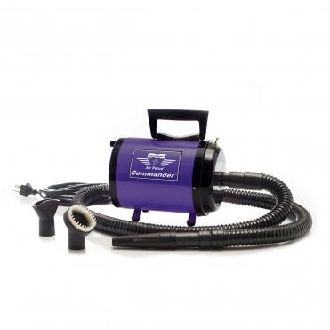 MetroVac Air Force Commander Two Speed Dryer - Rich Purple - NEW