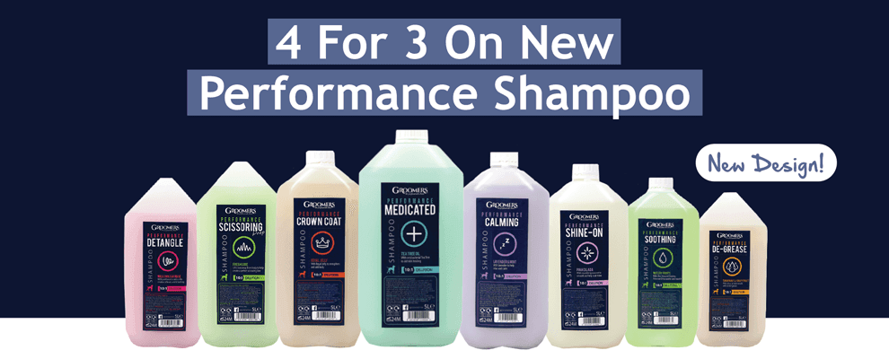 4 For 3 On Performance Shampoo