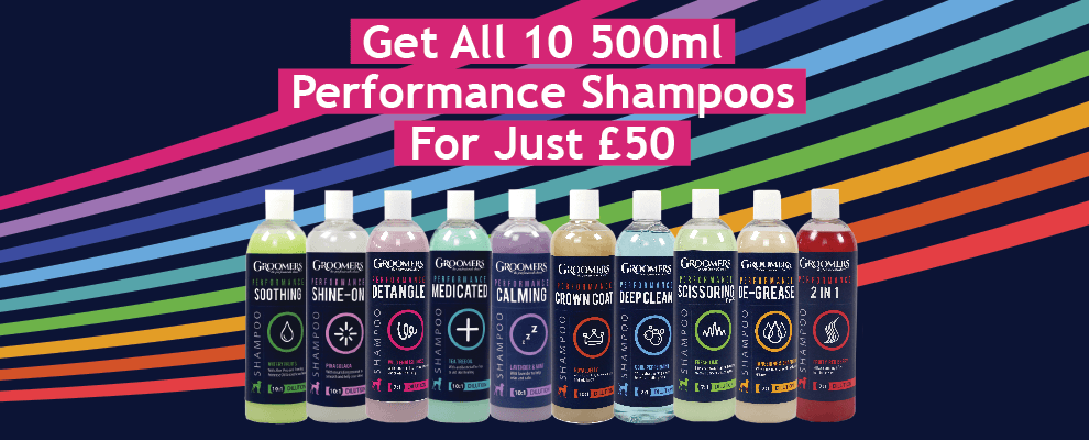 Get All 10 500ml Performance Shampoos For Just £50