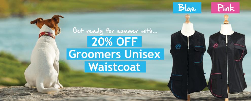 20% OFF The Groomers Unisex Waistcoat