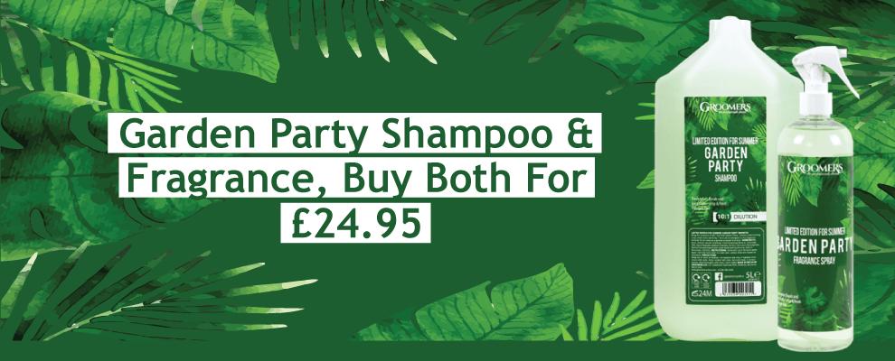 Garden Party Shampoo & Fragrance, Buy Both For £24.95