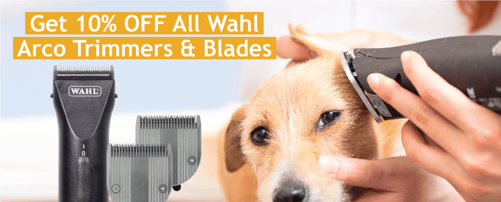 Get 10% OFF All Wahl Arco Trimmers & Blades