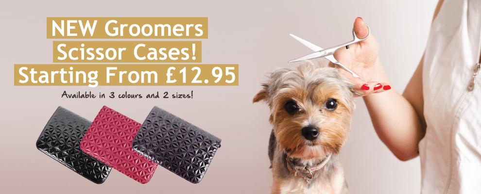 New Groomers Scissor Cases!