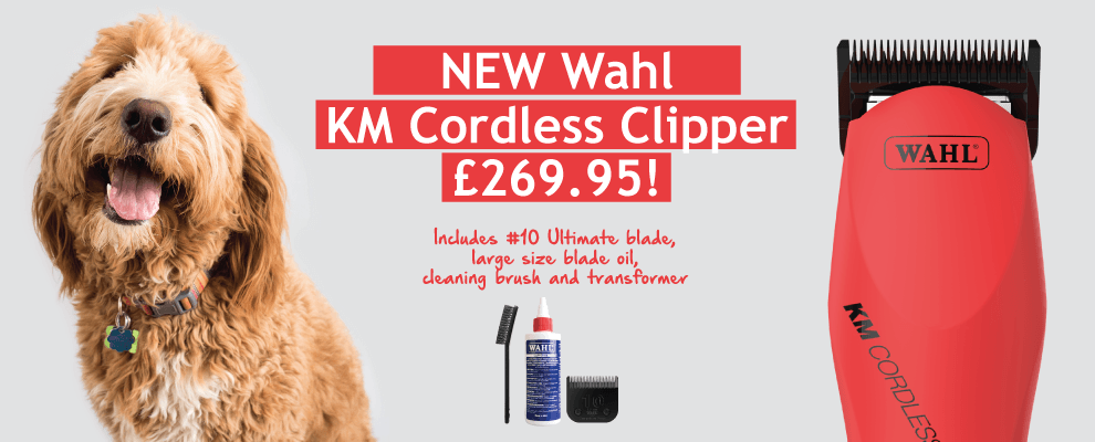 NEW Wahl KM Cordless Clipper!