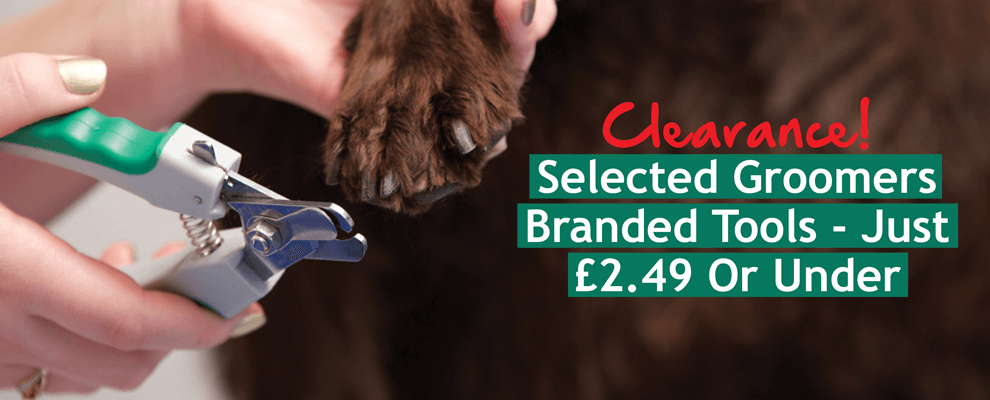 Groomers Branded Tools - Just £2.49 Or Under