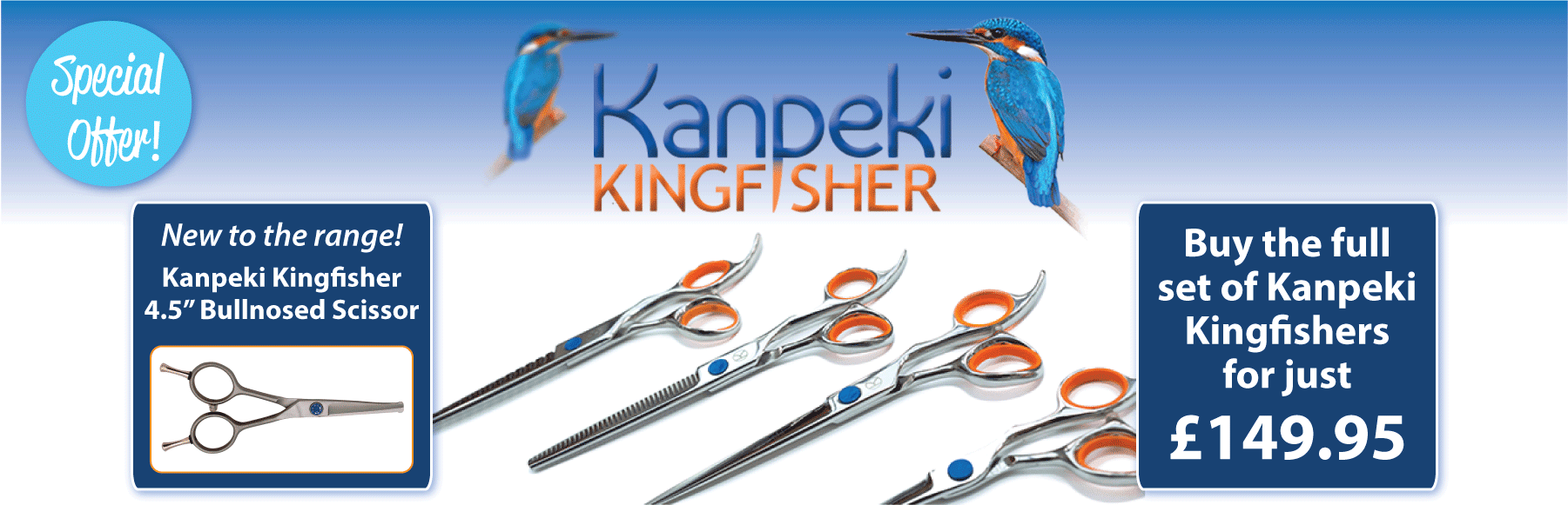 Kanpeki Kingfisher 5 Set For £149.95