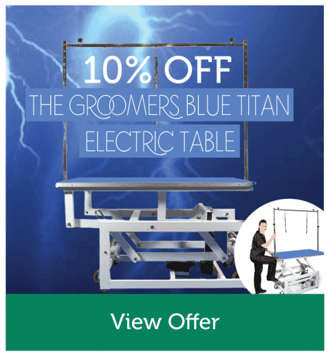 10% OFF The Groomers Titan Electric Table