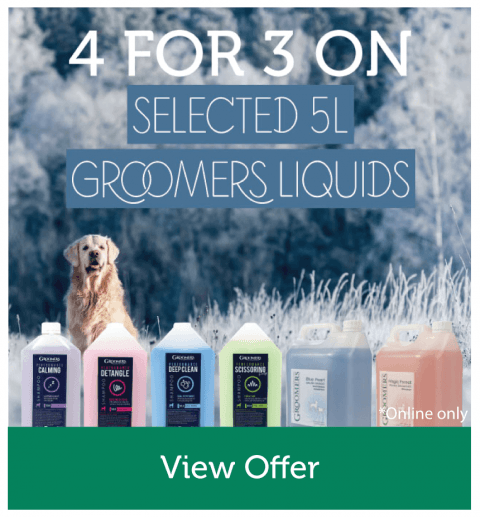 4 For 3 On Selected 5L Groomers Liquids