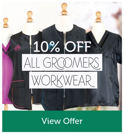 10% Off All Groomers Workwear