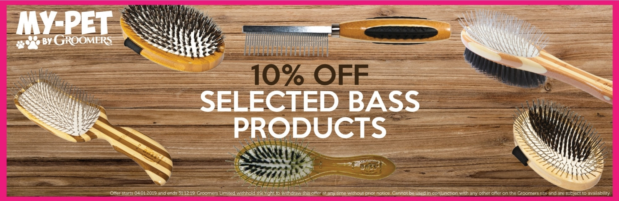 10% Off Selected Bass Products