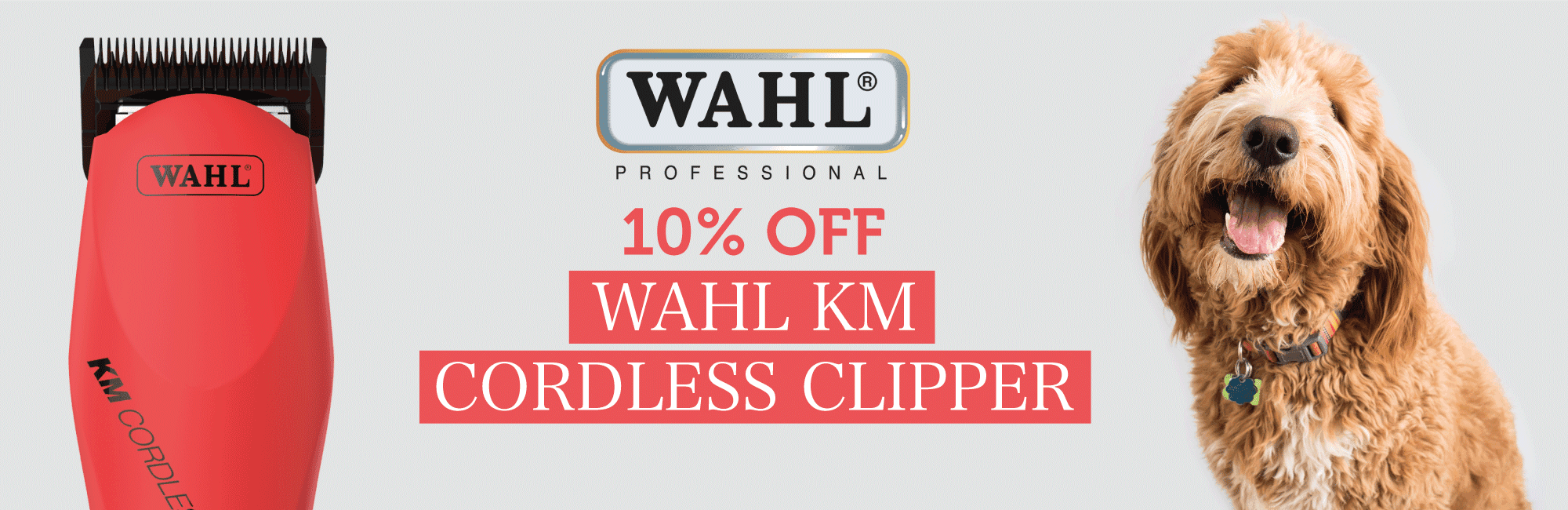 10% Off Wahl KM Cordless Clipper