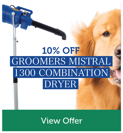 10% Off Groomers Mistral 1300 Combination Dryer