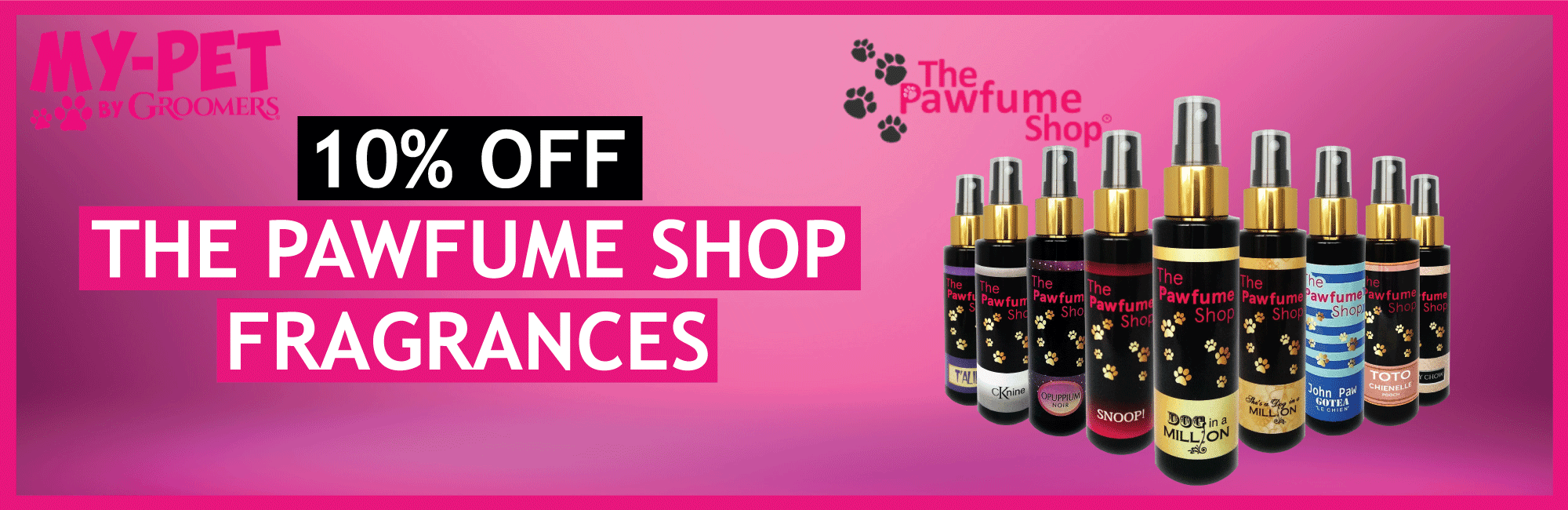 10% Off The Pawfume Shop Fragances