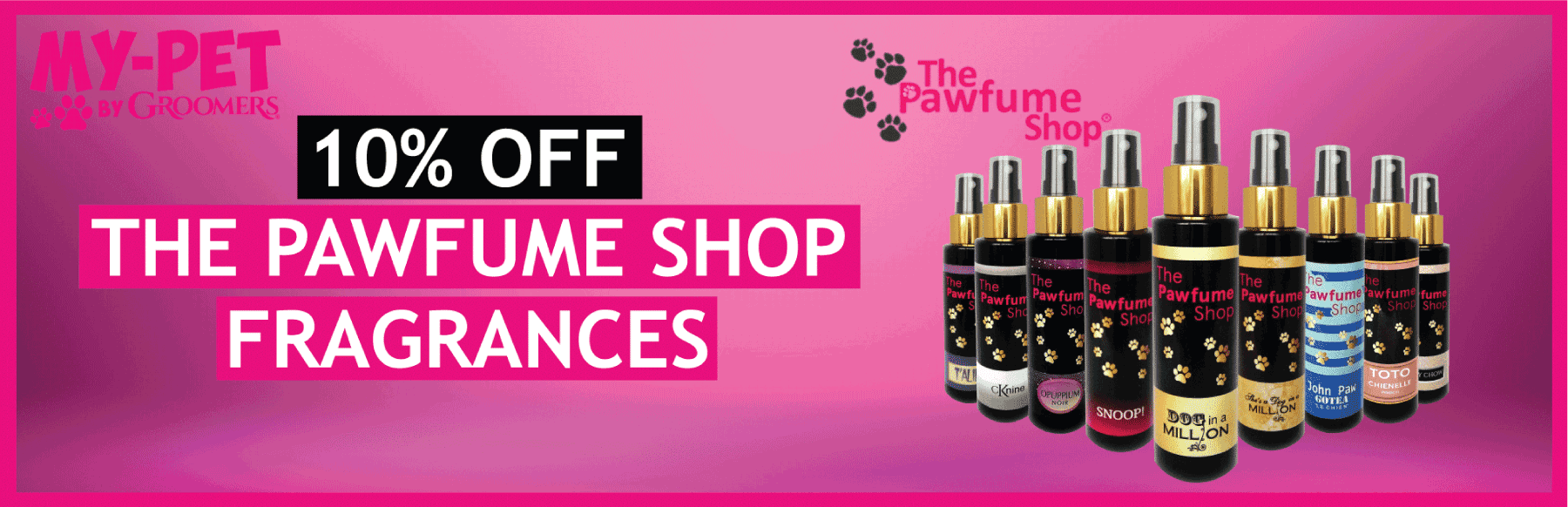 10% OFF The Pawfume Shop Fragrance