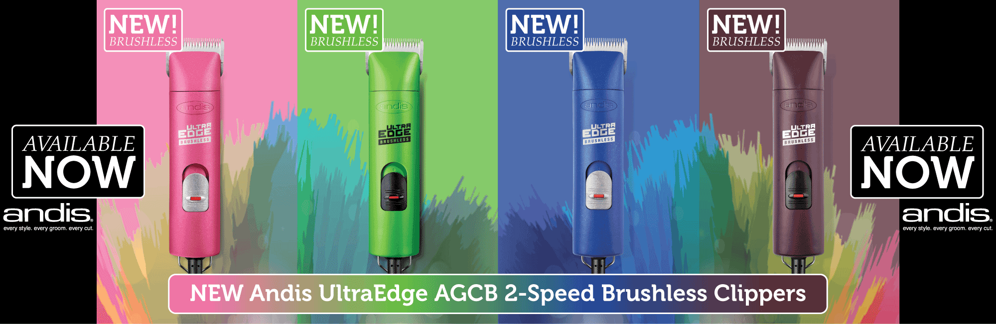 Andis AGCB 2-Speed Brushless Clippers