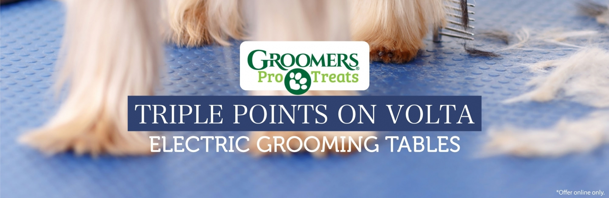 Triple Points On Volta Elecrtic Grooming Tables