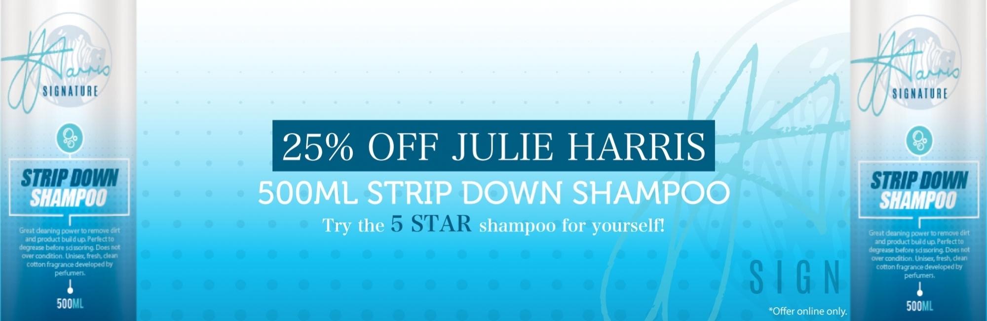 Julie Harris Coat Management Spray & 500ml Shampoo for £15.95