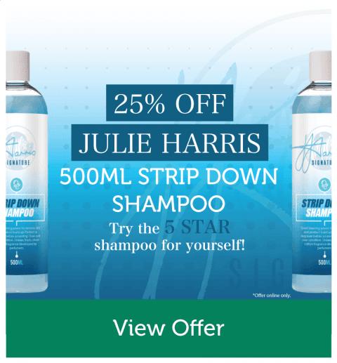 25% OFF Julie Harris 500ml Strip Down Shampoo